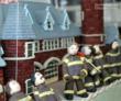 Hand-Sculpted Gum Paste Firemen