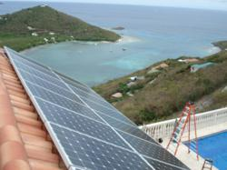 16kW solar array