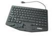 WetKeys Industrial Keyboard with Touchpad KBWKRC87T-BK