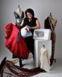 Joi Mahon, fashion sewing designer at American Sewing Expo