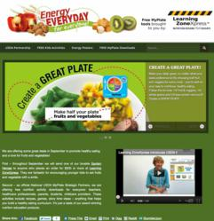 New USDA MyPlate Website with Free Educational Downloads