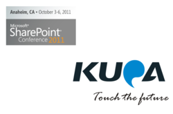 Kupa X11 SharePoint conference SPC2011 Windows tablet computer ipad android q550 ep121