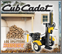 cub cadet log spitter, cub cadet wood splitter