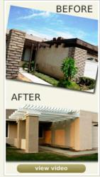 texture coatings and exterior house paint can not compare to the longevity of stretch guard - Exterior Coatings For Houses