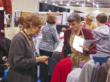 Shopping for fabric at American Sewing Expo
