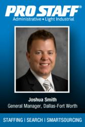 Joshua Smith, General Manager, Dallas-Fort Worth, Pro Staff