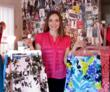 Kristen O'Connell showing off some of No.2's custom designs.
