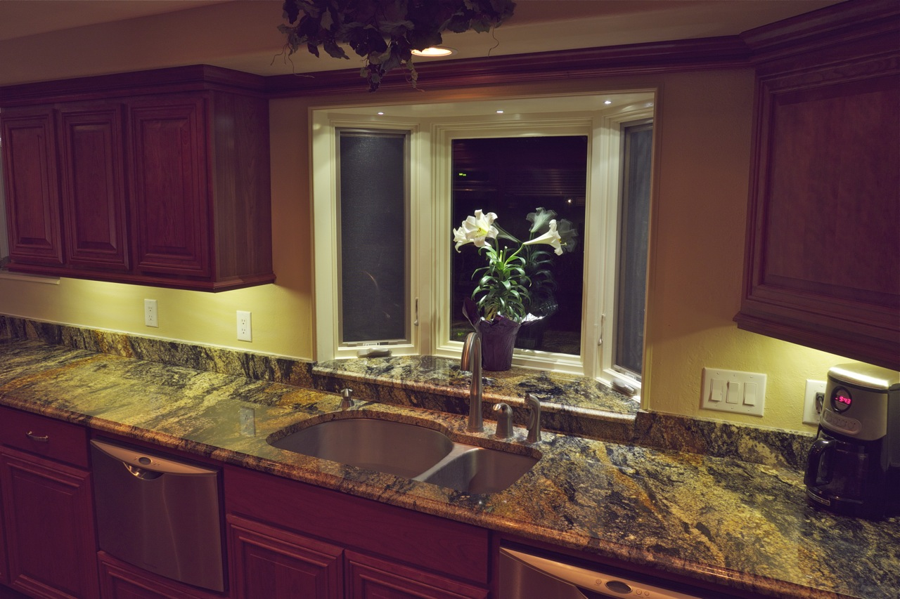 dekor led under cabinet lights light countertops and backsplash