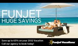 Funjet Huge Savings in 2012