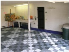 Tailored living now offers two styles of garage flooring for Garage david auto angers
