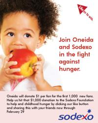 Join us in the fight against hunger.