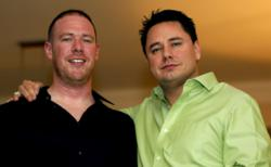 Tadd Rosenfeld and Rick Ramos, Founders of TeamLauncher.com