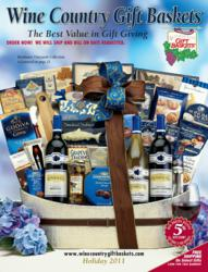 Wine Country Gift Baskets holiday catalog