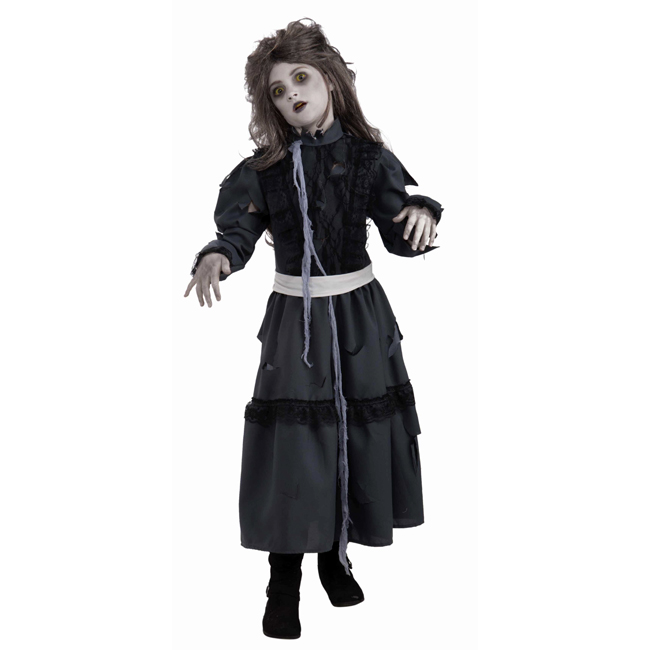 zombie girl costume for kids
