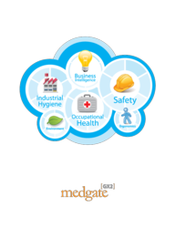 Medgate offers a complete solution to manage OH&S data