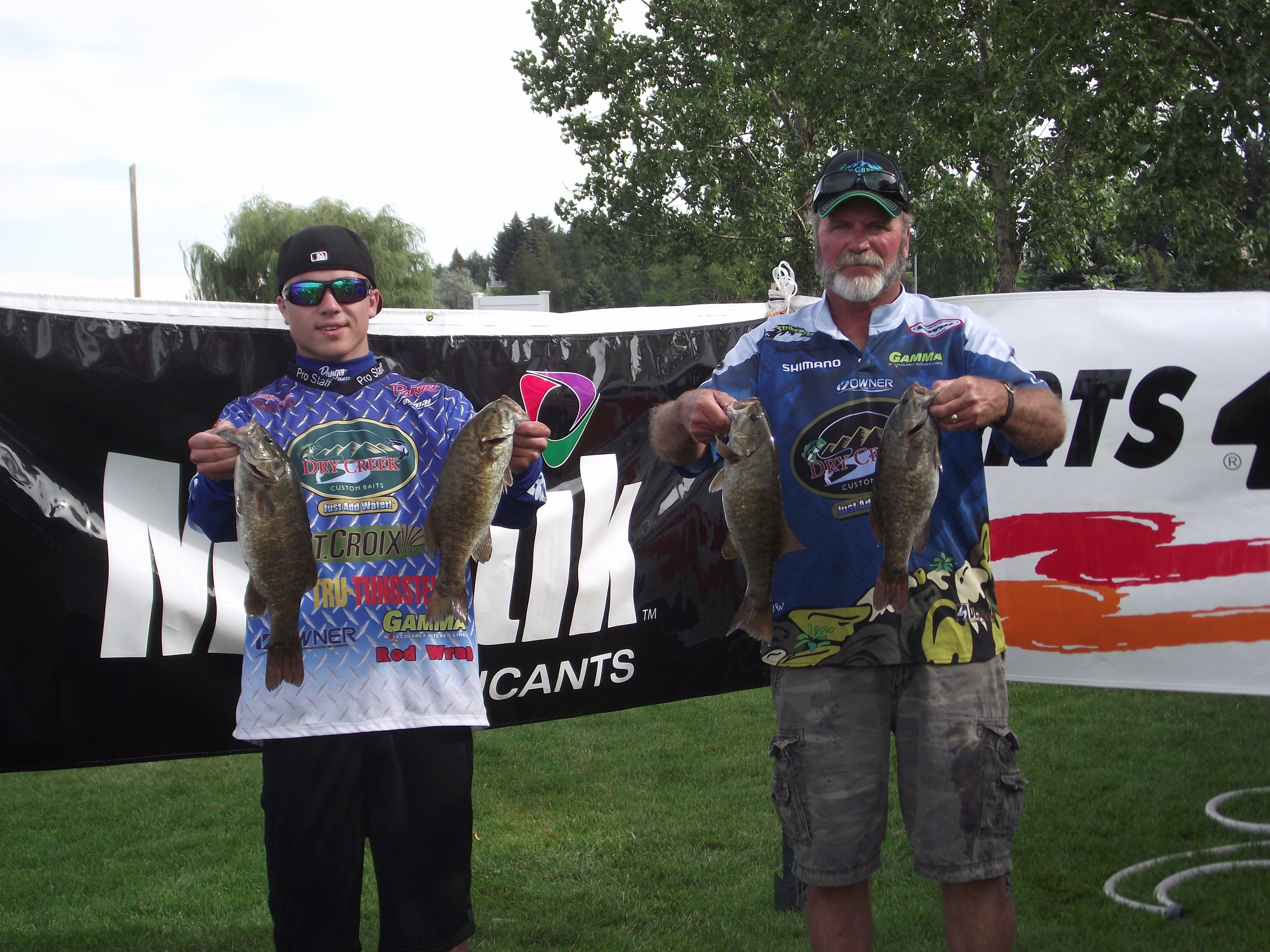 Dry creek outfitters 39 5th annual open bass fishing for Open bass fishing tournaments