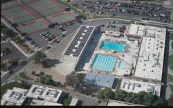 Solar Pool Heater at Southwestern Community College in Chula Vista, CA