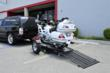 Single Ride-Up SRL Trailer for Motorcycles