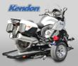 Single Ride-Up SRL Motorcycle Trailer