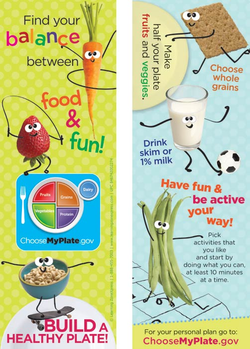 The New Usda Myplate Products For Kids