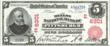 This rare $5 bill issued in 1902 by the Mellon National Bank of Pittsburgh will be among the $100 million of rare coins and paper money displayed at the National Money Show in Pittsburgh, Oct. 13 - 15, 2011.