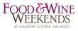 Orlando Food & Wine Weekends logo