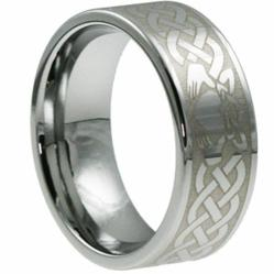 tungsten rings, celtic tungsten rings