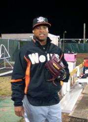Luis Marte Wears Vinci Baseball Glove