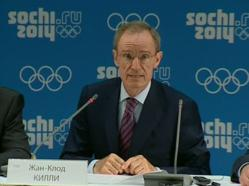 Sochi 2014 Coordination Commission Chairman Jean-Claude Killy