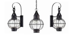 The Cape Cod home lighting collection is one of many lighting families on sale this month at Hinkley Lighting Gallery.