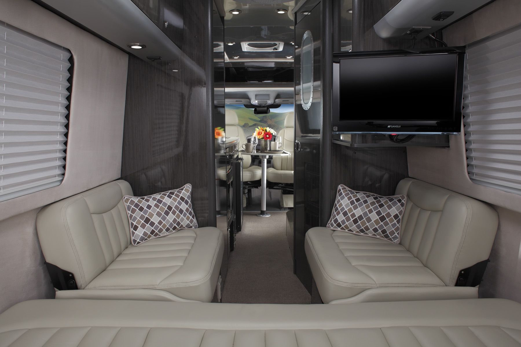 Newell coach adds legendary airstream to its rv offerings for Mercedes benz touring coach