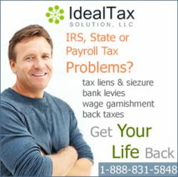 Don't let the IRS steal your life, Get your life back with help from Ideal Tax Solution