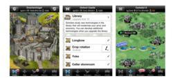 Lords & Knights jeu épique médiéval pour iPhone et iPad