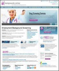Backgrounds Online Drug Screening Services
