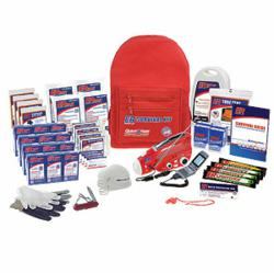 LTD Online Stores uses this emergency kit from Quake Kare Inc