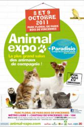 Animal Expo Paradisio 8 et 9 octobre 2011
