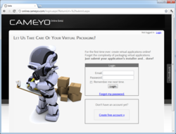 Cameyo Online Packager
