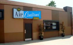 The AIR CONDITIONED Lounge