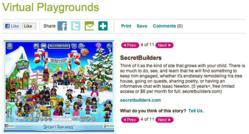 SecretBuilders on Parents Magazine