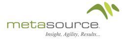 MetaSource User Administration