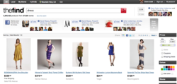 Social Signals Influence Search Results on TheFind.com