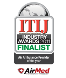AirMed nominated for 2011 Air Ambulance of the Year
