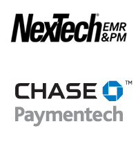 nextech has partnered with chase paymentech to streamline payment processing