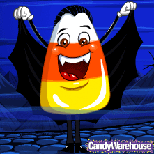 CandyWarehouse.com Halloween Mascot Count Candy Corn!
