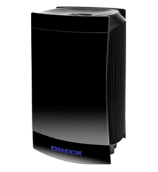 The Oreck DualMax™ Air Purifier features two fans, and on the highest setting, it produces double the airflow and twice the power as Oreck's leading air purifier.
