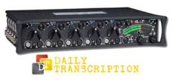 transcription services, focus group transcription, as-broadcast script