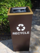 Sheraton's Outdoor Recycling Receptacles