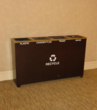 One of Sheraton's indoor recyclers