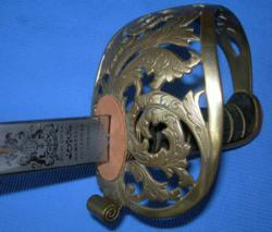 British Royal Engineers Officer's Sword