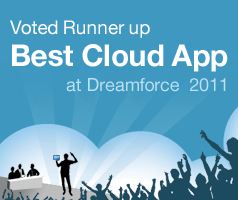 Voted Runner-Up Best Cloud App by Salesforce